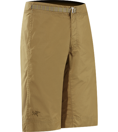 Grifter Long Men's Hardwearing, lightweight cotton/nylon canvas long inseam short designed for quick climbs and casual wear.