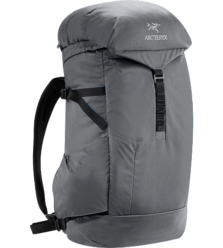 Jericho Backpack Blending the look of a traditional top loading daypack with speedy access to digital devices and a larger volume makes this pack ideal for daily commutes or travel.