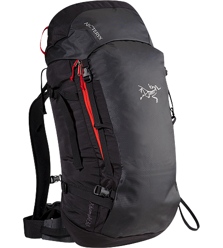 Khamski 38 Backpack 38 Litre backcountry skiing / split snowboarding pack sized for day trips or light overnight touring