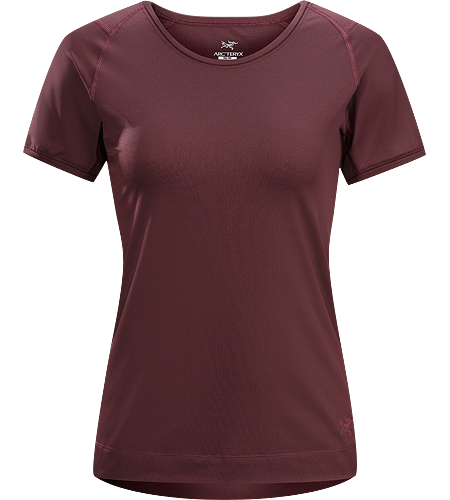 Mentum Tee SS Women's Breathable, moisture-wicking, stretchy short-sleeved shirt.