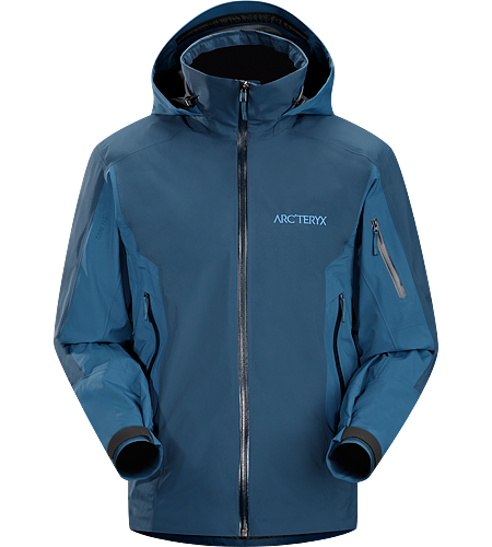 Modon Jacket Men's Synthetically insulated ski or snowboard jacket for cold weather days in the ski area.