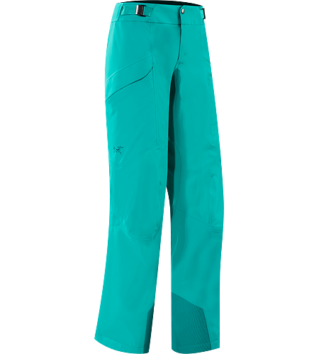 Nevus Pant Women's Trusaro™ softshell ski and snowboard pant designed for high output backcountry touring days.
