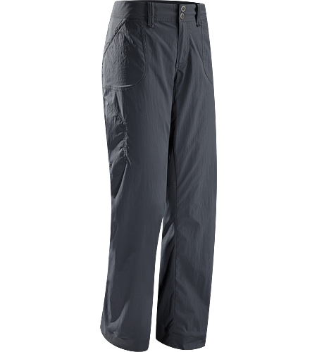 Parapet Pant Women's Lightweight, air permeable, durable, versatile TerraTex™ women's climbing and hiking pant with urban style.