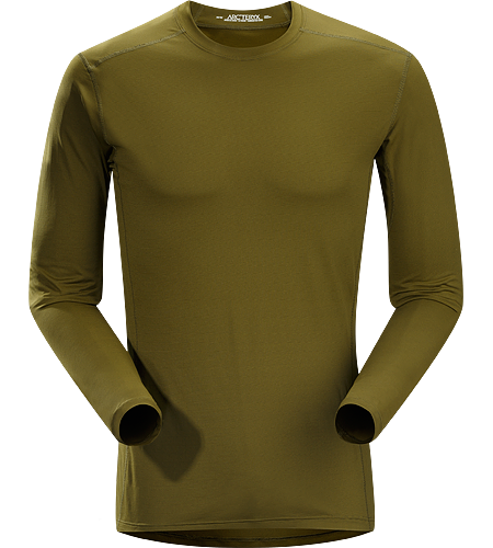 Phase SL Crew LS Men's Phase Series: Moisture wicking base layer | SL: Superlight. Moisture-wicking base-layer, constructed using odour-control fabric; Ideal as lightweight insulation layer during aerobic activities