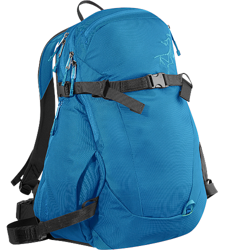 Quintic 28 Backpack Comfortable, robust backpack with contoured back panel and ski/snowboard wrap system; Ideal for every day use and backcountry day tours