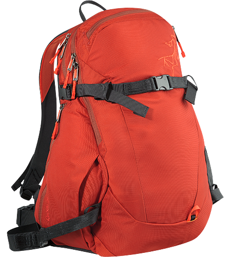 Quintic 38 Backpack Comfortable, robust backpack with contoured back panel and ski/snowboard wrap system; Ideal for backcountry day tours