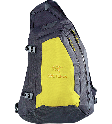Quiver Backpack A unique three-point day pack designed to hold minimal backcountry essentials