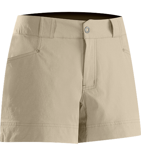 Rabat Short Women's Midweight technical short designed for hiking and trail use.