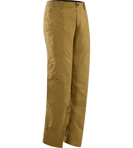 Renegade Pant Men's Casually styled, light canvas travel pants that are patterned with a relaxed fit and subtle articulation for increased freedom of movement.