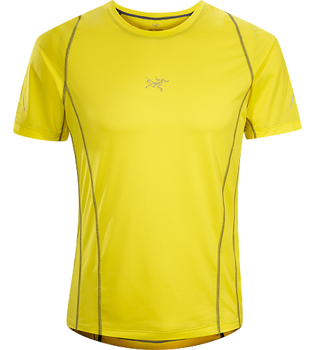 Sarix SS Men's Ultra lightweight, high performance mesh short sleeve shirt designed for trail running and racing.