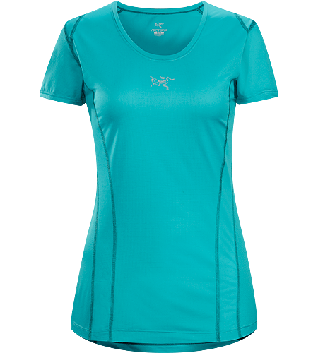 Sarix SS Women's Ultra lightweight, comfortable, highly air permeable women's performance shirt for fast paced runs and high output mountain training.
