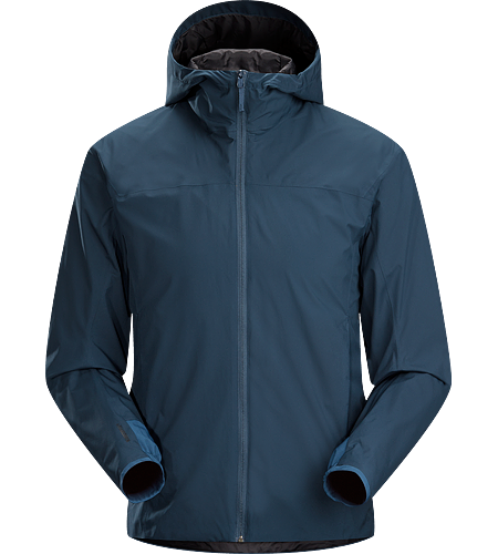 Solano Jacket Men's Light, breathable, hooded men's WINDSTOPPER® jacket provides wind protection and water repellency for active commuting, travel or around town.