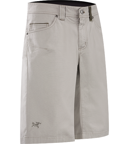 Spotter Long Men's Tough, Cotton/Canvas shorts designed for maximum movement.