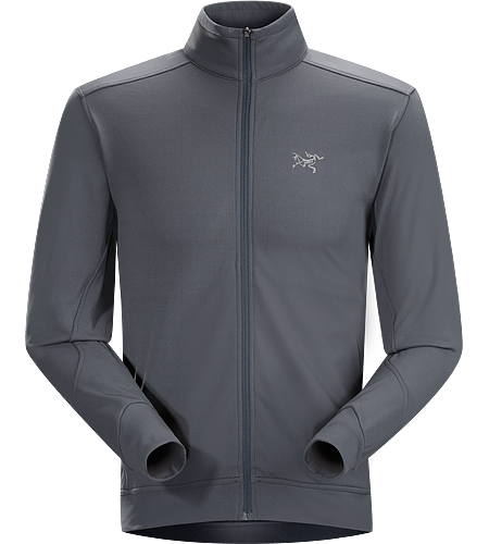 Stradium Jacket Men's Relaxed cut, gridback fleece warm up / cool down jacket. Midweight fleece features good moisture management and comfort stretch. High collar provides additional warmth. Two zippered hand pockets; one with an interior key pocket.