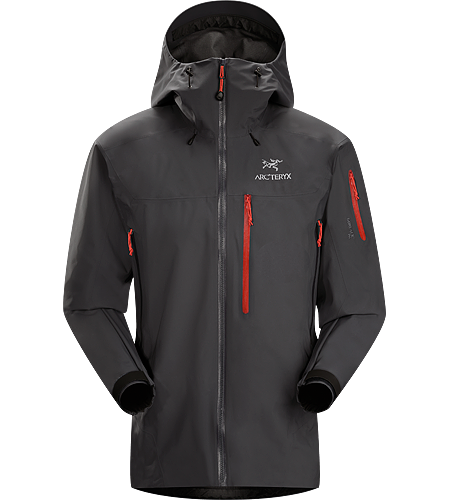 Theta SVX Jacket Men's Theta Series: All-round mountain apparel with increased coverage | SV: Severe Weather. A highly featured, severe weather condition jacket, designed for wet, stormy days. Our toughest and longest length waterproof jacket constructed with hardwearing GORE-TEX® 80D face fabric.