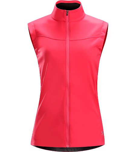 Trino Vest Women's Performance oriented vest with a combination of WINDSTOPPER® and stretchy Vistasari™ fabric for increased breathability. Ideal for high-output activities in cold conditions such as winter running and cross country skiing