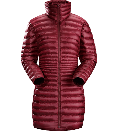 Yola Coat Women's Warm, lightweight and stylish down coat that perfectly straddles the worlds between urban corridors and mountain towns.