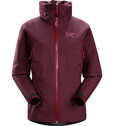 Zeta AR Jacket Women's Lightweight, packable, versatile waterproof/breathable GORE-TEX® shell with a hood that stows into the collar.