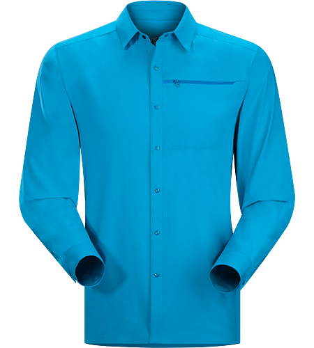Adventus Comp LS Men's Super lightweight, quick-drying long-sleeved shirt that helps keep you cool and dry.
