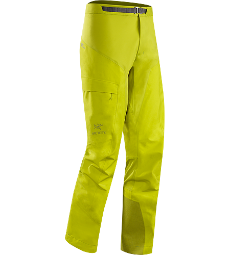 Alpha Comp Pant Men's Composite construction pants with versatile thermal management and zonal weather protection in a single garment. Alpha Series: Climbing and alpine focused systems.