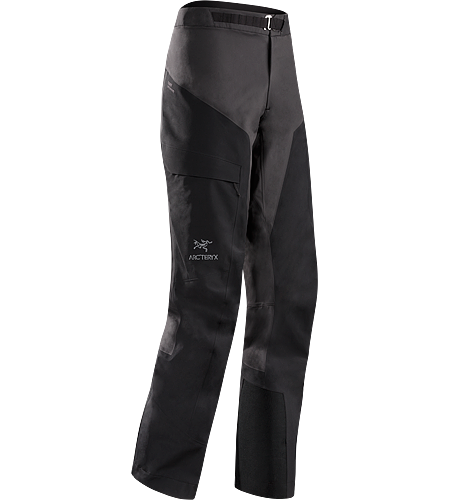 Alpha Comp Pant Women's Composite construction pants with versatile thermal management and zonal weather protection in a single garment. Alpha Series: Climbing and alpine focused systems.