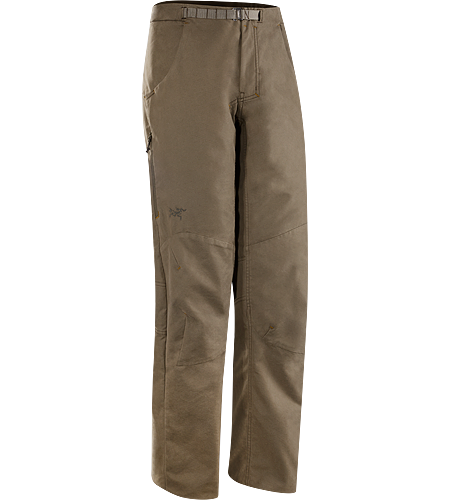 Aristo Pant Men's Relaxed fit, hardwearing cotton blend canvas pant with a climbing inspired design.