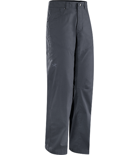 Bastion Pant Men's Versatile, durable cotton/nylon canvas work pant designed for a day at the crag and off the rock wear.