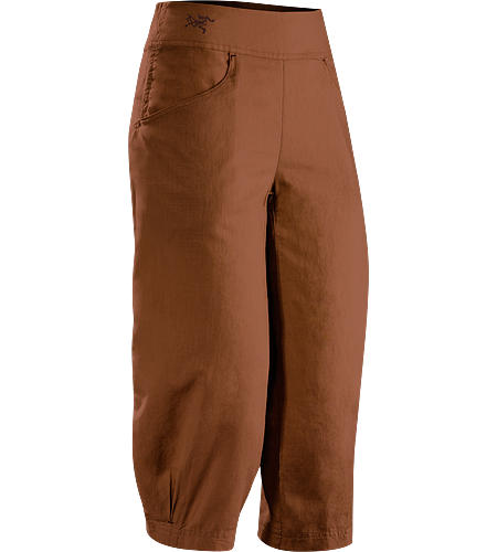 C'esta Capri Women's Light, airy, relaxed fit linen/cotton  Capri pant designed for travel or casual wear hot weather.