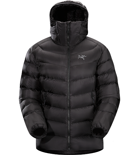Cerium SV Hoody Women's This backcountry specialist is the warmest Cerium hoody. Streamlined, lightweight down jacket filled with 850 grey goose down. This jacket is intended as a warm mid layer or standalone piece in cold, dry condtions. Down Series: Down insulated garments | SV: Severe Weather.