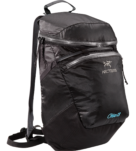 Cierzo 18 Backpack Ultra-light and compressible, low-profile lead pack, designed for rock and ice climbers