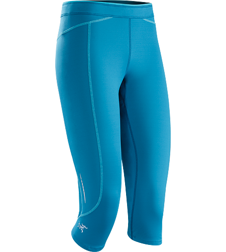 Cita 3/4 Tight Women's Women's performance oriented, lightweight tight made from smooth finish, stretch Suncore™ fabric. Designed with a ¾ length for coverage and versatility.