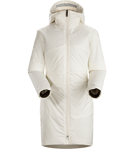 Darrah Coat Women's Warm, water repellent, casual hooded coat with Coreloft™ synthetic insulation and a clean, sophisticated design.