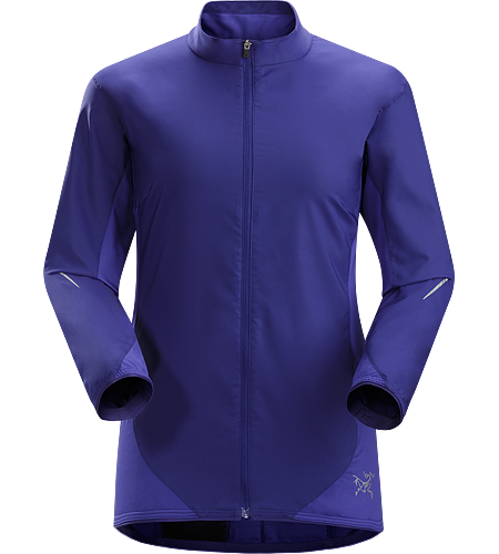 Darter Jacket Women's A trim fit, lightweight, breathable shell jacket that delivers wind and light weather protection during high output aerobic activities.