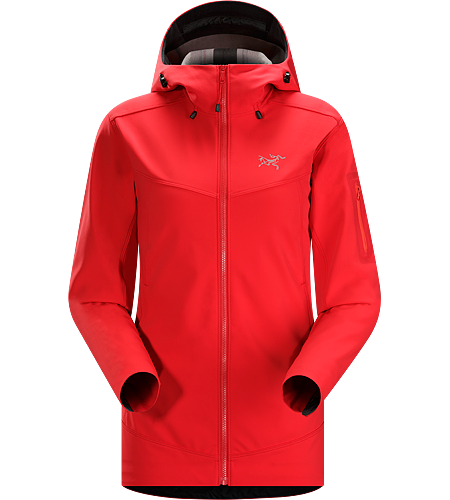 Epsilon LT Hoody Women's Epsilon Series: Abrasion resistant mid layer fleece | LT: Lightweight. Moderate warmth mid layer hoody with good air permeability and the durable woven face of a softshell.