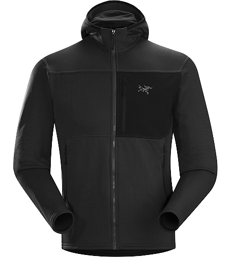 Fortrez Hoody Men's Warm, durable, midweight Polartec® Power Stretch Hardface® hooded fleece jacket that functions as a midlayer or a standalone piece.