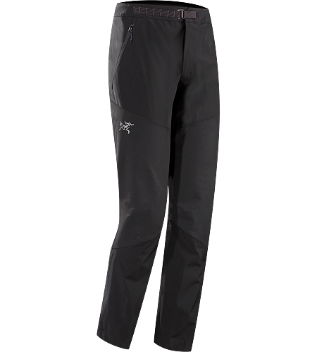 Gamma Rock Pant Men's Lightweight, breathable, technical alpine pant constructed with two weights of stretchy yet durable textile that provide enhanced abrasion resistence and mobility. Gamma Series: Softshell outerwear with stretch.