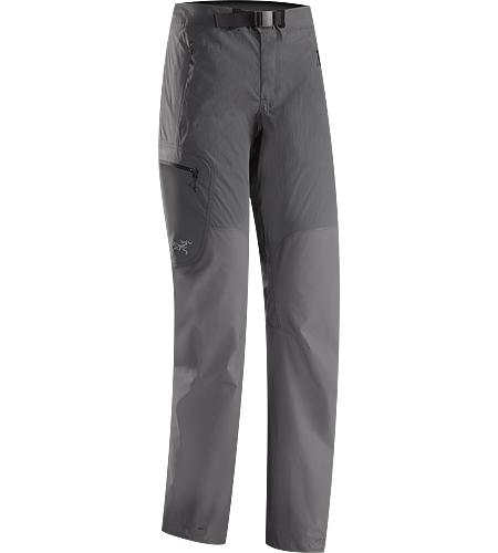 Gamma SL Hybrid Pant Women's Lightweight, durable wind and moisture resistant pants constructed using two weights of softshell textile for enhanced mobility and breathability. Gamma Series: Softshell outerwear with stretch | SL: Superlight.