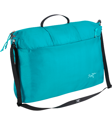 Index 10 Single compartment bag/organizer with removable shoulder strap; to be used inside luggage or alone as a carry-on.