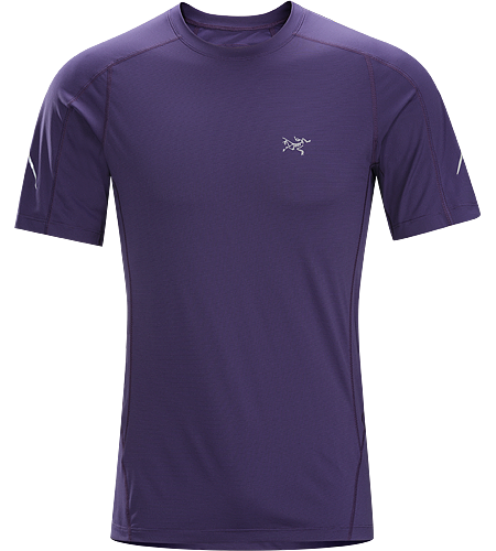 Motus Crew SS Men's Light, streamlined, technically advanced Phasic™ short sleeve shirt wicks moisture and regulates body temperature during high output activities.