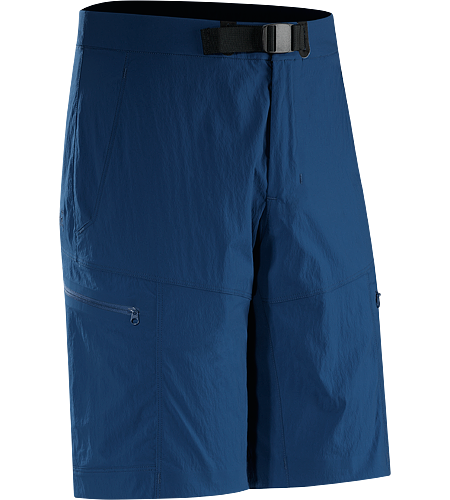 Palisade Short Men's Trim fitting men's trail short constructed with durable, quick drying, air permeable TerraTex™ stretch nylon blend.