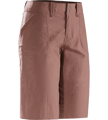 Parapet Long Women's Light, airy, durable, versatile TerraTex™ knee length hiking short.