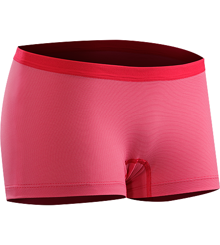 Phase SL Boxer Women's Lightweight, moisture-wicking boxer brief for women. Phase Series: Moisture wicking base layer | SL: Superlight.