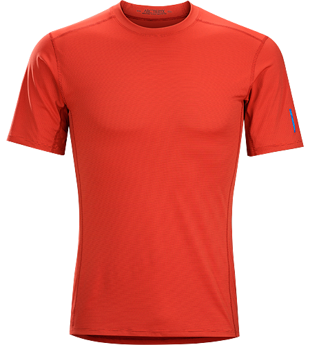 Phase SL Crew SS Men's Moisture-wicking base-layer, constructed using odour-control fabric; Ideal as lightweight insulation layer during aerobic activities. Phase Series: Moisture wicking base layer | SL: Superlight.