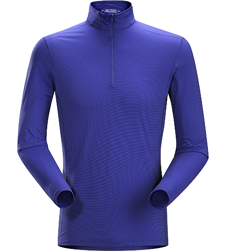 Phase SL Zip Neck LS Men's Moisture-wicking base-layer with zip neck, constructed using odour-control fabric; Ideal as lightweight insulation layer during aerobic activities. Phase Series: Moisture wicking base layer | SL: Superlight.