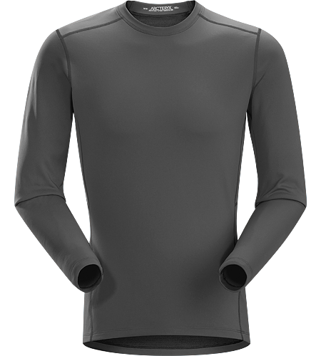 Phase SV Crew LS Men's Moisture-wicking base-layer, constructed using odour-control fabric; Ideal as mid-level insulation during aerobic activities. Phase Series: Moisture wicking base layer | SV: Severe Weather.