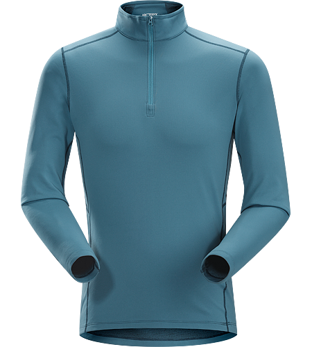Phase SV Zip Neck LS Men's Moisture-wicking base layer zip neck top, constructed using odour-control fabric; Ideal as mid-level insulation during stop-and-go activities. Phase Series: Moisture wicking base layer | SV: Severe Weather.