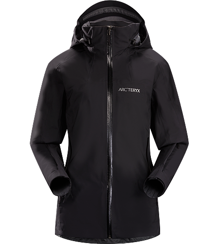 Ravenna Jacket Women's Trim, streamlined, resort ready ski shell with GORE-TEX® protection, fleece comfort and stretch performance.