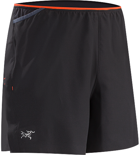 Soleus Short Men's High performance short featuring brief liner, ventilation and multiple pockets on waist belt for carrying essential race items.