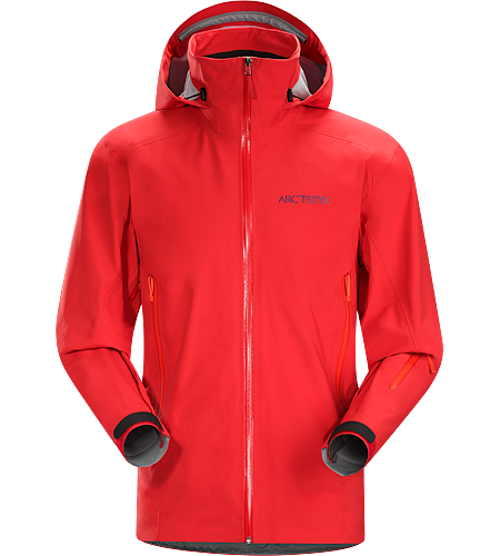 Stingray Jacket Men's Lightly insulated, waterproof, hardwearing GORE-TEX® jacket with 3L softshell construction and resort ready performance.