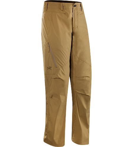 Stowe Pant Men's Trim fit, breathable and durable cargo pant constructed with lightweight cotton/nylon textile with a hint of stretch; ideal for travelling, providing all day comfort.